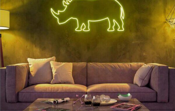 Neon animales