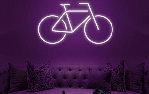 Neon bicicleta