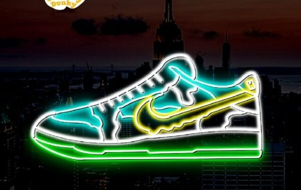 nike ben and jerrys neon