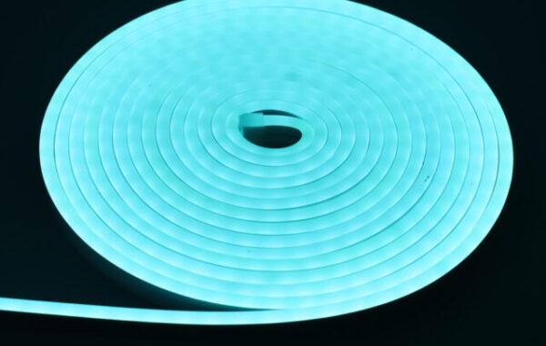 led neon azul hielo